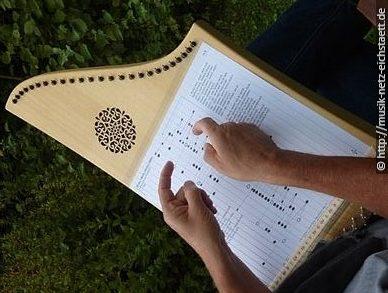 Wer die Veeh-Harfe spielen lernt…